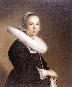 VERSPRONCK, Jan Cornelisz Portrait of a Bride er oil painting artist